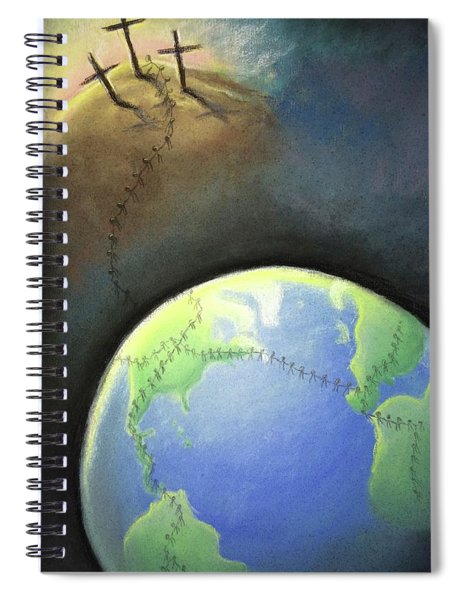 Touched By His Love Spiral Notebook