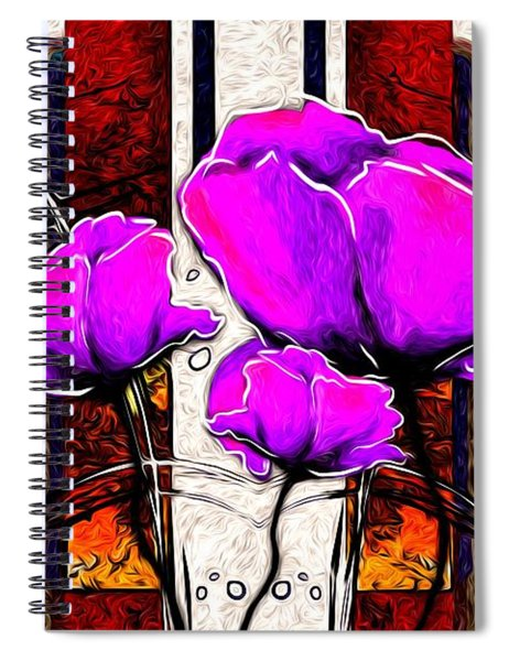 Touched By The Hand Of God Spiral Notebook