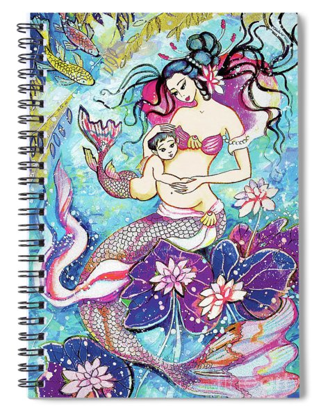 Touching Of Life Spiral Notebook
