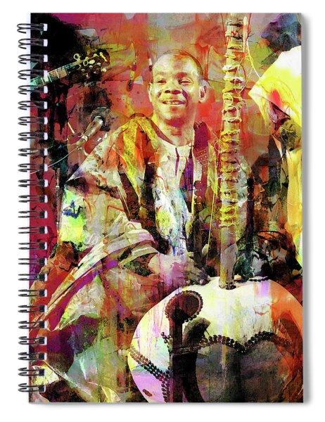 Toumani Diabate Spiral Notebook