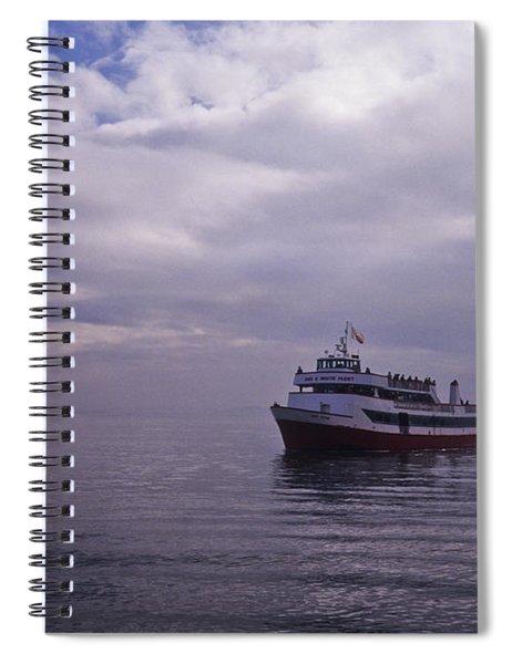 Tour Boat San Francisco Bay Spiral Notebook