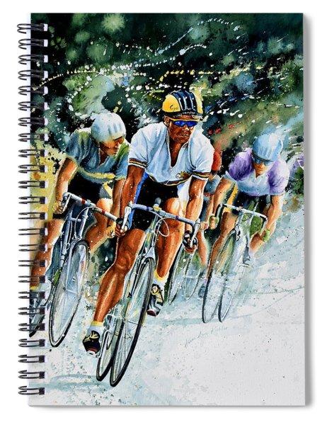 Tour De Force Spiral Notebook