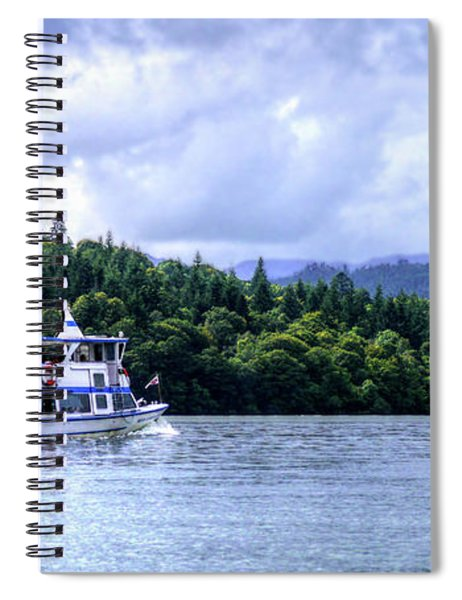 Touring The Lakes Spiral Notebook