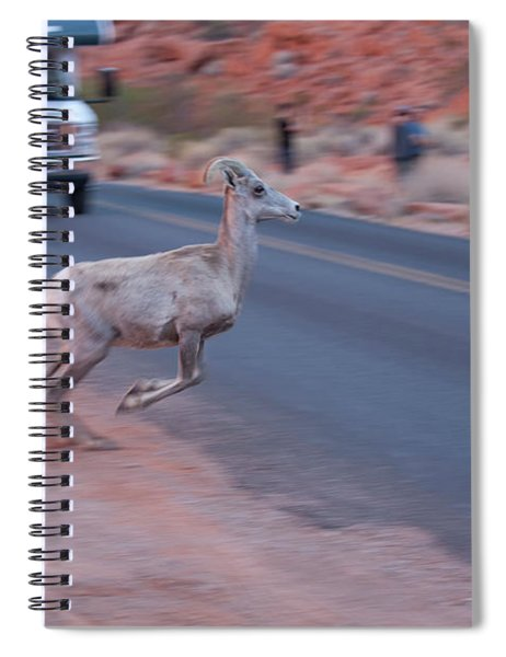 Tourists Intrusion In Nature Spiral Notebook