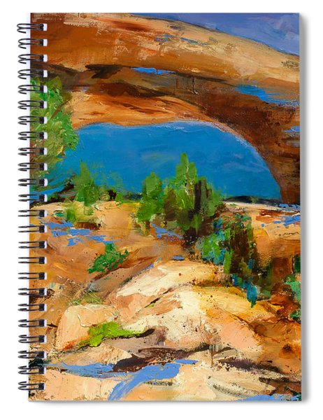 Toward The Arch  Spiral Notebook