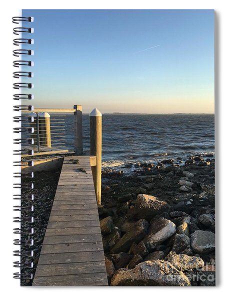 Towards The Bay Spiral Notebook