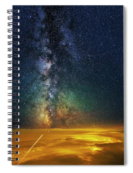 Towards The Core Spiral Notebook
