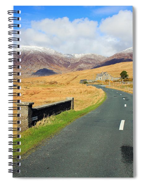 Towards The Mountain Spiral Notebook