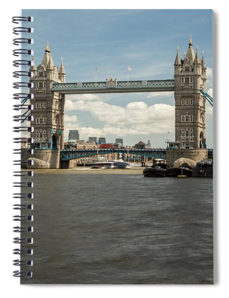 Tower Bridge A Spiral Notebook