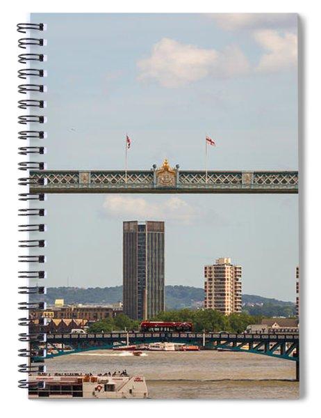 Tower Bridge C Spiral Notebook