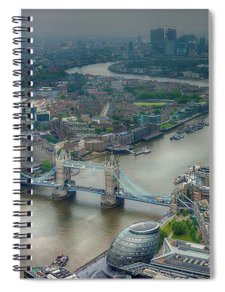 Tower Bridge In London Spiral Notebook