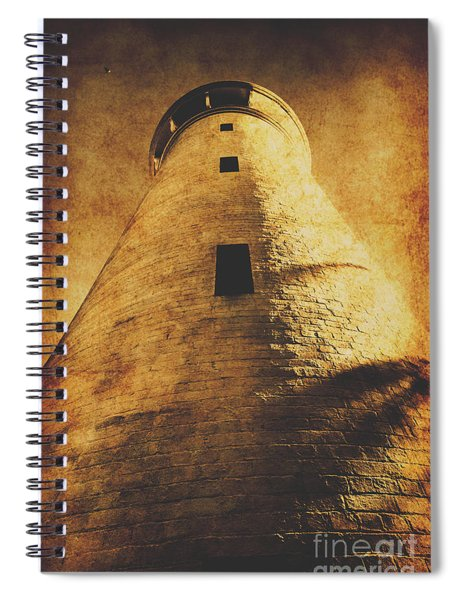 Tower Of Grunge Spiral Notebook