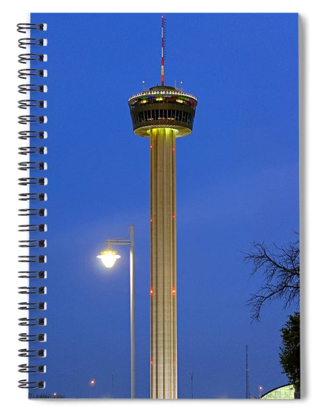 Tower Of The Americas Spiral Notebook