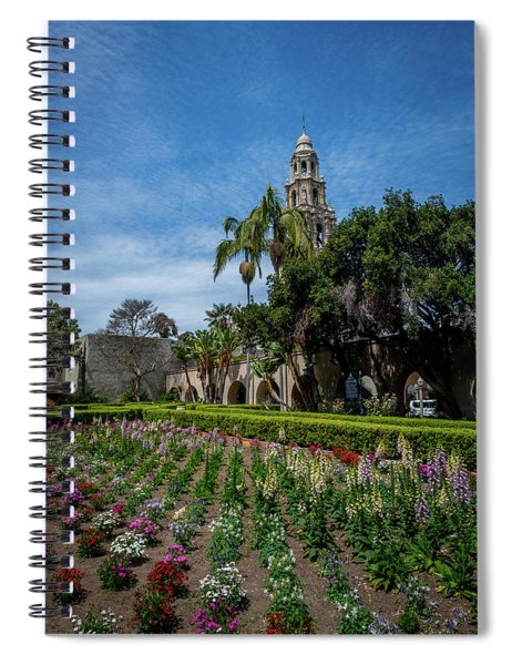 Tower Rise Spiral Notebook