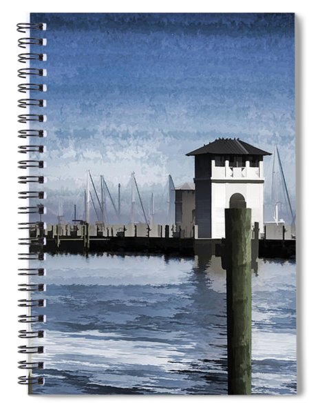 Towers And Masts Spiral Notebook