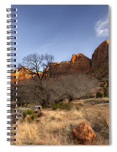 Towers Of The Virgin Spiral Notebook