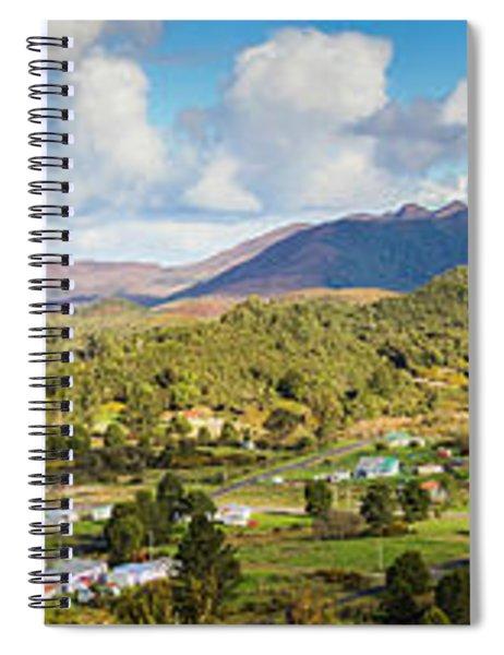 Town Of Zeehan Australia Spiral Notebook