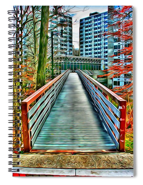 Towson University Walkway Spiral Notebook