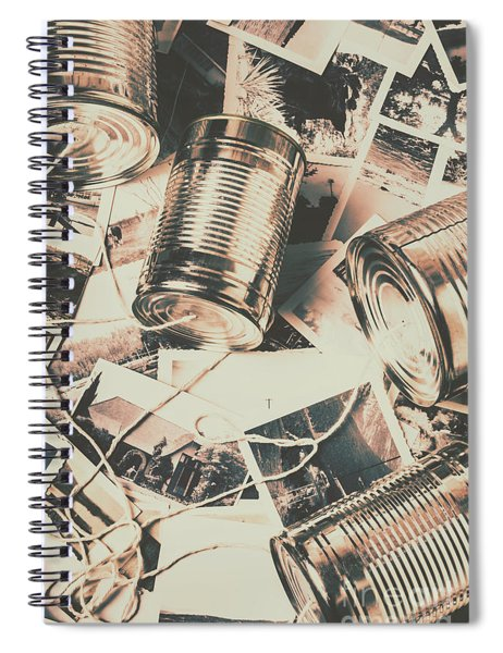 Toy Telecommunications Spiral Notebook