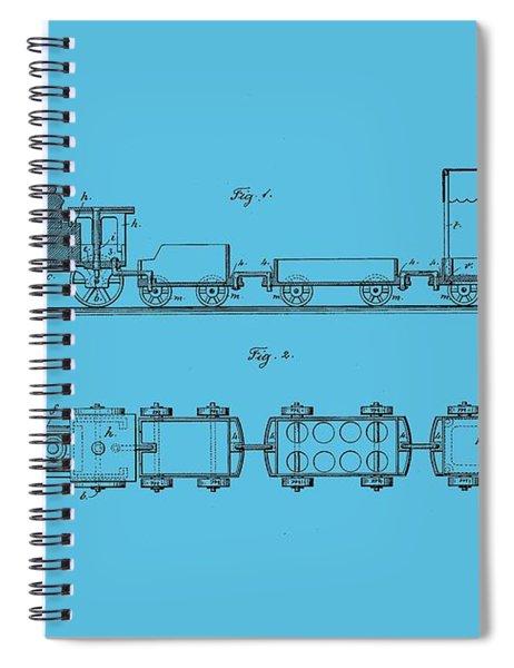 Toy Train Tee Spiral Notebook