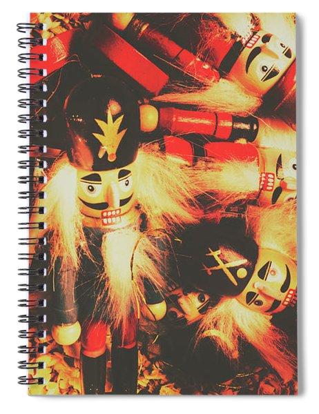 Toy Workshop Soldiers Spiral Notebook