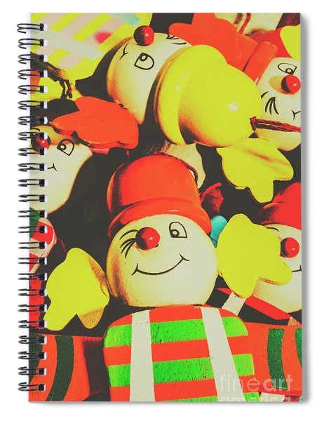 Toys From Old Play Spiral Notebook