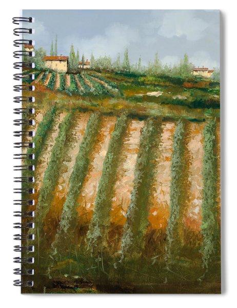 Tra I Filari Nella Vigna Spiral Notebook