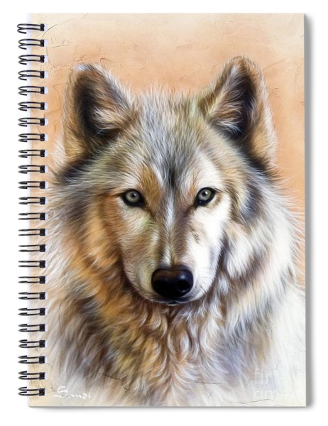 Trace Two Spiral Notebook