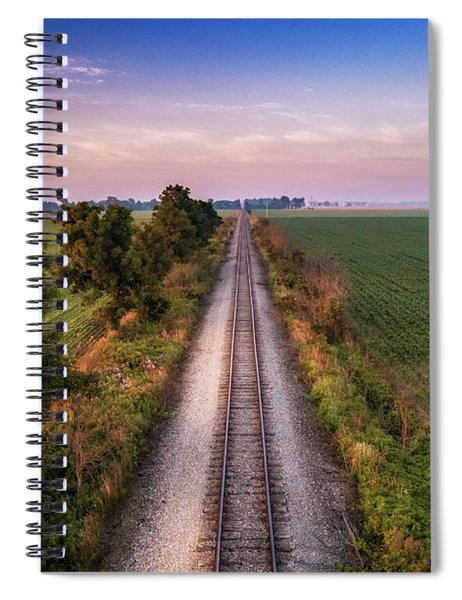 Track And Field Spiral Notebook