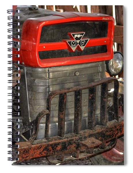 Tractor Grill  Spiral Notebook