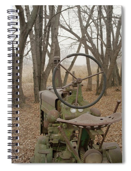 Tractor Morning Spiral Notebook