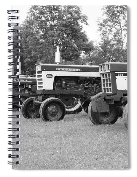 Tractor Show 2016 Spiral Notebook