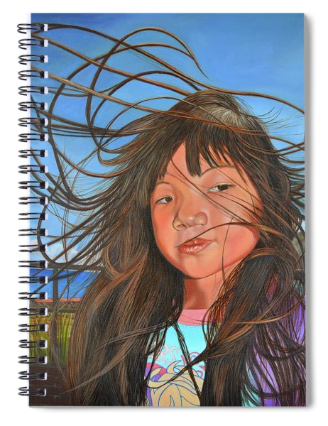 Trade Wind Day Spiral Notebook