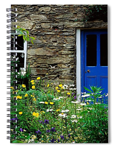 Traditional Cottage, Co Cork Spiral Notebook
