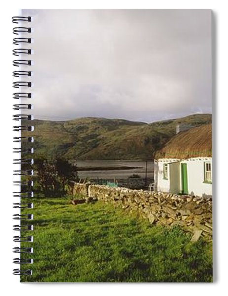 Traditional Cottage, Near Lough Rus Spiral Notebook