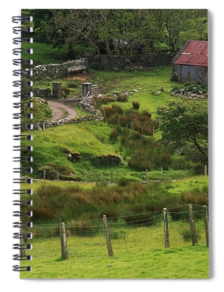 Traditional Cottages, Dan Oharas Spiral Notebook