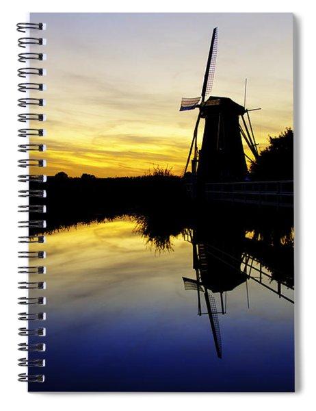 Traditional Dutch Spiral Notebook