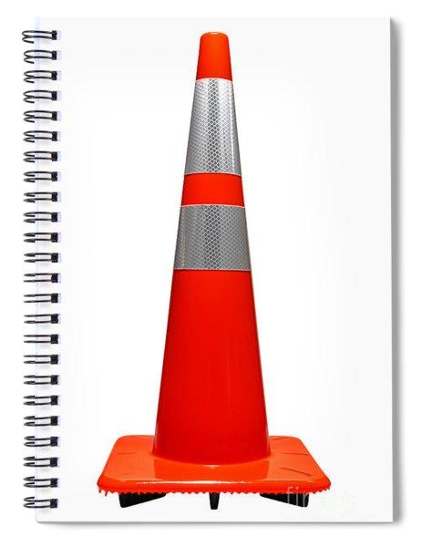 Traffic Cone Spiral Notebook