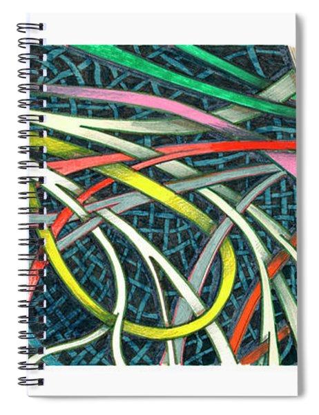 Traffic Pattern Spiral Notebook