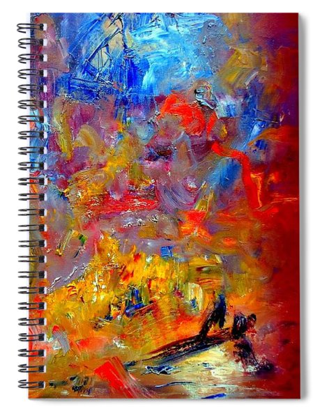 Tragedy  At  Sea -  Sydney To Hobart Spiral Notebook