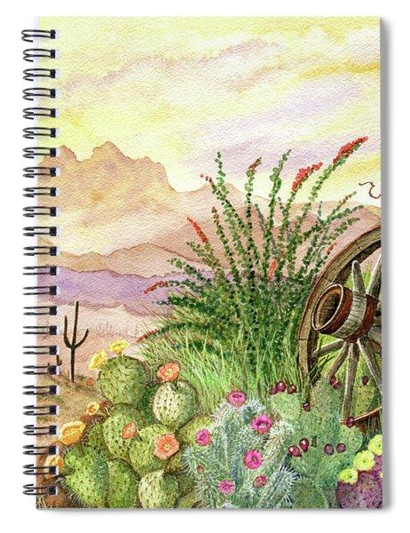 Trail At Sunrise Spiral Notebook