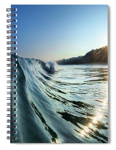 Trail Of Diamonds Spiral Notebook