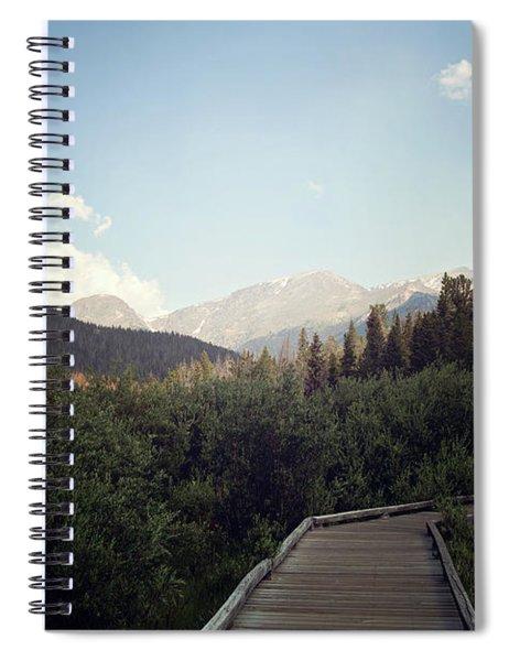 Trail Ridge Road Spiral Notebook