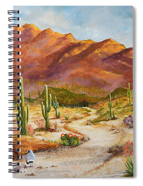 Trail To The San Tans Spiral Notebook