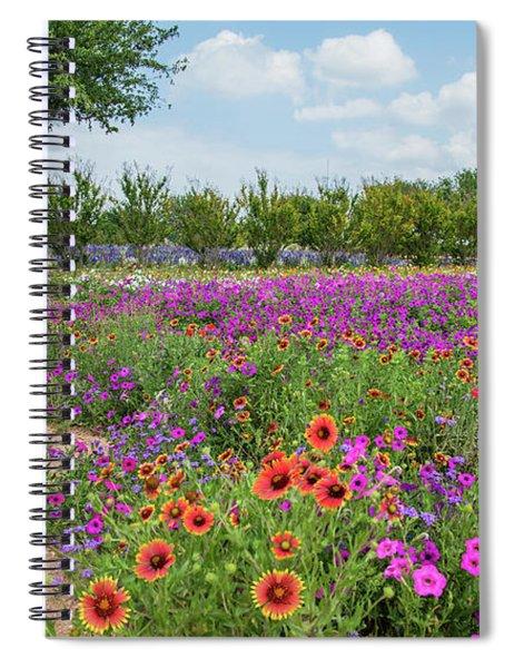 Trailing Beauty Spiral Notebook