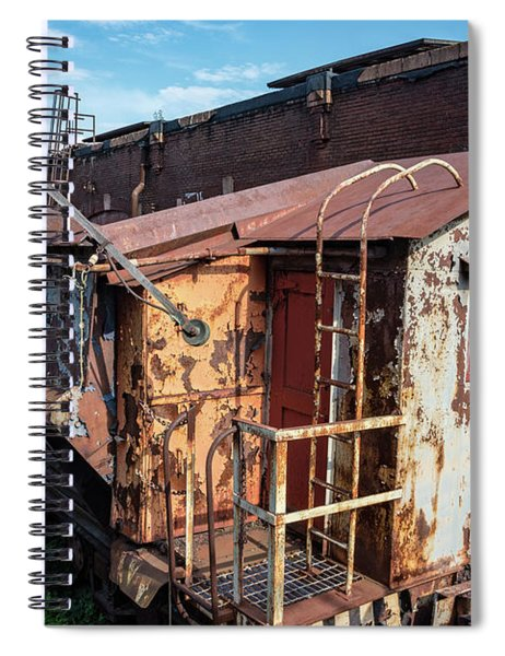 Train 6 In Color Spiral Notebook