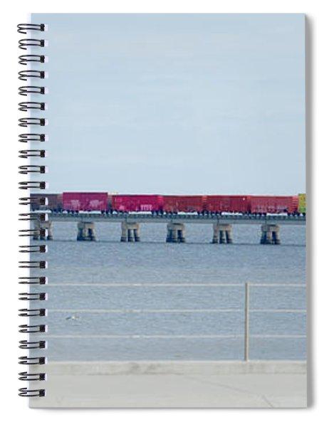 Train Bridge Spiral Notebook