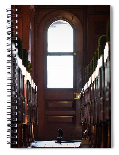 Train Car Interior Spiral Notebook