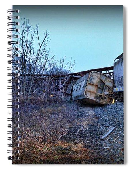 Train - We Lost A Car  Spiral Notebook