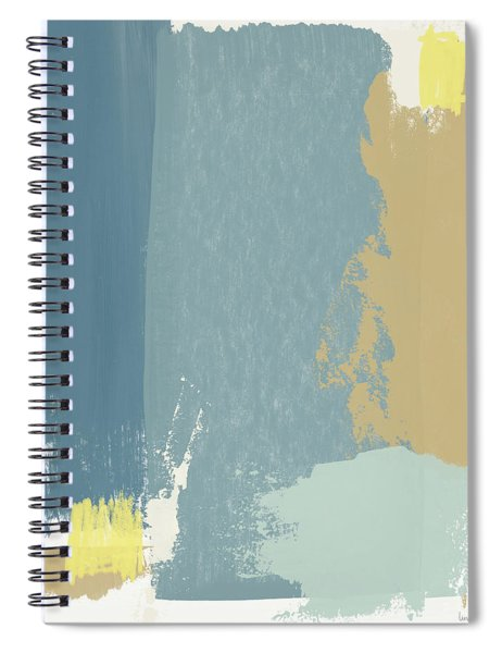 Tranquil Abstract 1- Art By Linda Woods Spiral Notebook